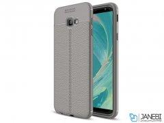 قاب ژله ای طرح چرم سامسونگ Auto Focus Jelly Case Samsung Galaxy J4 Plus