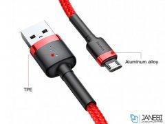 کابل شارژ سریع و انتقال داده میکرو یو اس بی بیسوس Baseus Cafule Micro USB Cable 1m