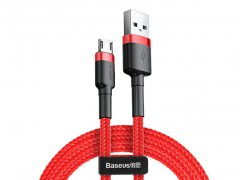 کابل شارژ سریع و انتقال داده بیسوس Baseus Cafule Micro USB Cable