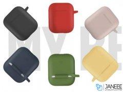 کاور محافظ سیلیکونی ایرپاد Blueo Silicone Case Apple Airpods