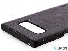 قاب محافظ چرمی سامسونگ Huanmin Leather Case Samsung Galaxy Note 8