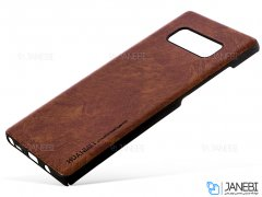 قاب طرح چرم سامسونگ Huanmin Leather Case Samsung Galaxy S8