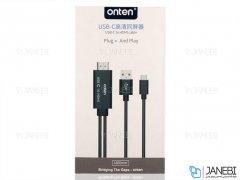کابل مبدل تایپ سی به اچ دی ام آی Onten USB-C To HDMI Cable