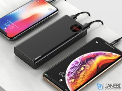 پاور بانک سریع بیسوس Baseus Mulight Quick Charge 20000mAh Power Bank