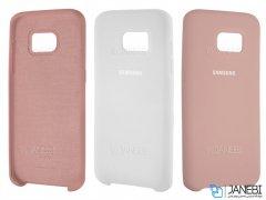 قاب محافظ سیلیکونی سامسونگ Silicone Cover Samsung Galaxy S7 Edge