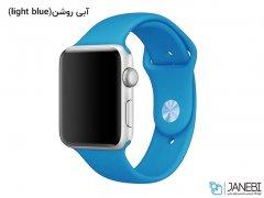 بند سیلیکونی اپل واچ طرح اسپرت Apple Watch Sport Band 38mm
