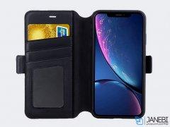 کیف و قاب چرمی نیلکین آیفون Nillkin Folio Case iPhone XS Max