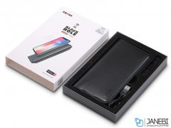 پاور بانک و کیف چرمی Zhuse Black Hole Series ZS-WB-001 8000mAh Power Bank And Leather Bag