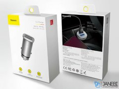 شارژر فندکی سریع دو پورت بیسوس Baseus BS-C15Q Dual QC3.0 30W Car Charger