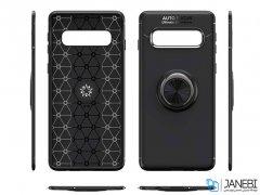 قاب ژله ای حلقه دار سامسونگ Becation Finger Ring Case Samsung Galaxy S10 Plus
