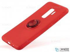 قاب ژله ای حلقه دار سامسونگ Becation Finger Ring Case Samsung Galaxy S9 Plus