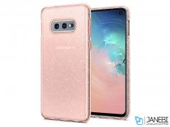 محافظ ژله ای اسپیگن سامسونگ Spigen Liquid Crystal Glitter Case Samsung Galaxy S10e