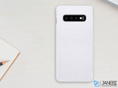کیف چرمی نیلکین سامسونگ Nillkin Qin Leather Case Samsung Galaxy S10 Plus