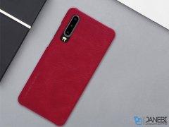 کیف چرمی نیلکین هواوی Nillkin Qin Leather Case Huawei P30