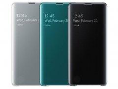 کیف محاف اصلی سامسونگ اس 10 Samsung S10 Clear View Cover