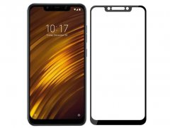 گلس تمام چسب شیائومی Full Glass Screen Protector Xiaomi Pocophone F1