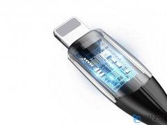 کابل شارژ سریع و انتقال داده لایتنینگ بیسوس Baseus Horizontal Lightning Data Cable 1m