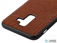 قاب چرمی سامسونگ Lishen Leather Case Samsung Galaxy A6 Plus 2018