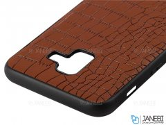 قاب چرمی سامسونگ Lishen Leather Case Samsung Galaxy J6