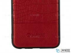 قاب چرمی سامسونگ Lishen Leather Case Samsung Galaxy J4 Plus