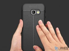 قاب ژله ای طرح چرم سامسونگ Becation Auto Focus Case Samsung Galaxy A5 2017