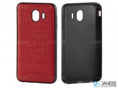 قاب چرمی سامسونگ Lishen Leather Case Samsung Galaxy J4
