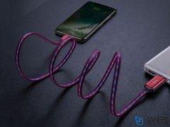 کابل بیسوس Baseus LED Glowing Lightning Data Cable 1m