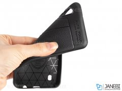 قاب ژله ای طرح چرم سامسونگ Auto Focus Jelly Case Samsung Galaxy A10