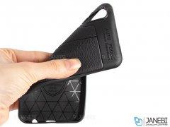 قاب ژله ای طرح چرم سامسونگ Auto Focus Jelly Case Samsung Galaxy A50