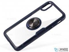 قاب محافظ حلقه دار آیفون Comie Ring Case iPhone X/XS