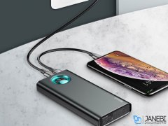 پاور بانک سریع بیسوس Baseus Mulight PD3.0 Quick Charge 20000mAh Power Bank