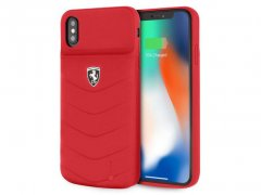 قاب باتری دار چرمی آیفون CG Mobile Ferrari Battery Leather Case iPhone XS Max