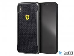 قاب آیفون CG Mobile Ferrari Carbon Fiber Case iPhone XS Max