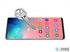 محافظ صفحه نمایش شیشه ای نیلکین سامسونگ Nillkin 3D CP+ Max Glass Samsung Galaxy S10