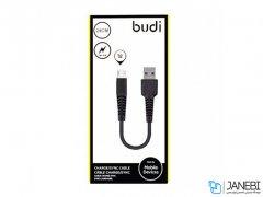 کابل شارژ کوتاه میکرو یو اس بی budi Micro USB To USB Charger Cable 20CM