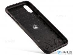قاب ژله ای حلقه دار آیفون Becation Finger Ring2 Case Apple iPhone X/XS