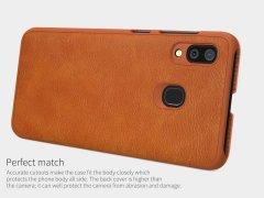 کیف چرمی نیلکین Nillkin Qin leather case Samsung A30