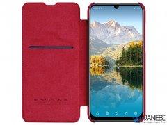 کیف چرمی نیلکین هواوی Nillkin Qin Leather Case Huawei P Smart Plus 2019/ Enjoy 9s