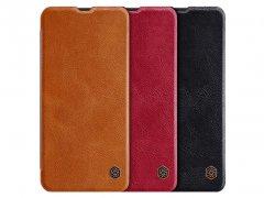 کیف چرمی نیلکین سامسونگ Nillkin Qin leather case Samsung Galaxy A50