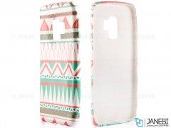 قاب محافظ طرح دار شبرنگ سامسونگ ARU Case Samsung Galaxy S9
