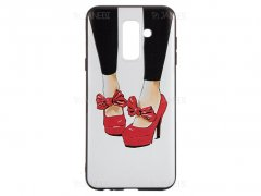 قاب ژله ای راک سامسونگ Rock Shoes Case Samsung Galaxy A6 Plus 2018