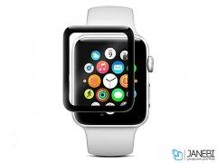 محافظ شیشه ای تمام چسب اپل واچ Blueo Glass Apple Watch 44mm