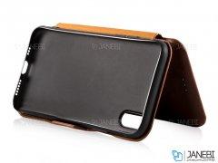 کیف چرمی آیفون Puloka Case Apple iPhone X/XS