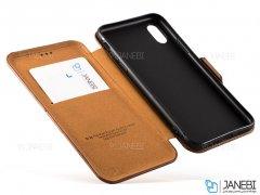 کیف چرمی آیفون Puloka Case Apple iPhone XS