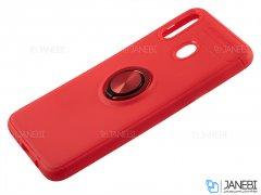 قاب ژله ای حلقه دار سامسونگ Becation Finger Ring Case Samsung Galaxy M20