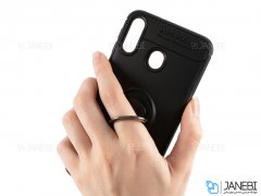 قاب ژله ای حلقه دار سامسونگ Becation Finger Ring Case Samsung Galaxy A30