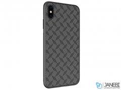 قاب محافظ فیبر نیلکین آیفون Nillkin Synthetic Fiber Plaid Case Apple iPhone XS Max