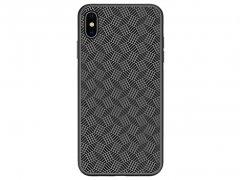 قاب محافظ نیلکین آیفون Nillkin Synthetic Fiber Plaid Case Apple iPhone XS Max