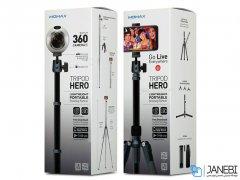 سه پایه دوربین و گوشی مومکس Momax Tripod Hero