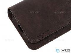 کیف طرح چرم نگهدارنده گوشی WUW P40 Phone Wallet